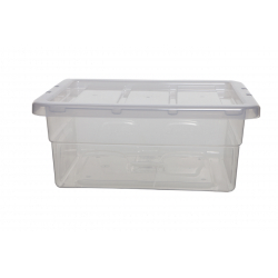 Whitefurze 40cm Spacemaster Midi Storage Box with Lid