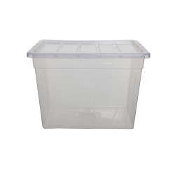 Whitefurze 56cm Spacemaster Maxi Storage Box with Lid