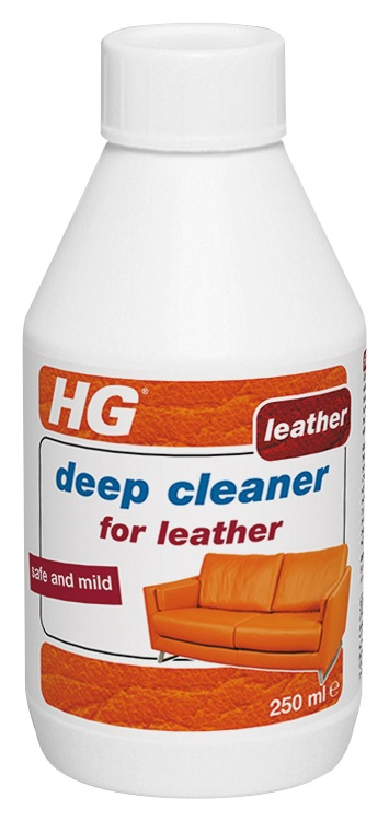 how to deep clean leather