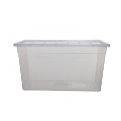 Whitefurze 75cm Smaster Maxi Storage Box with Lid