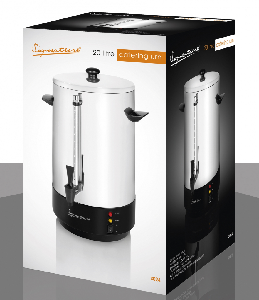 Signature Catering Urn 20L - Stainless Steel