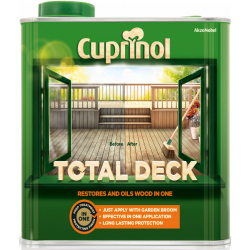 Cuprinol Total Deck Restorer & Oil 2.5L