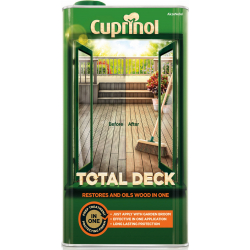 Cuprinol Total Deck Restorer & Oil 5L