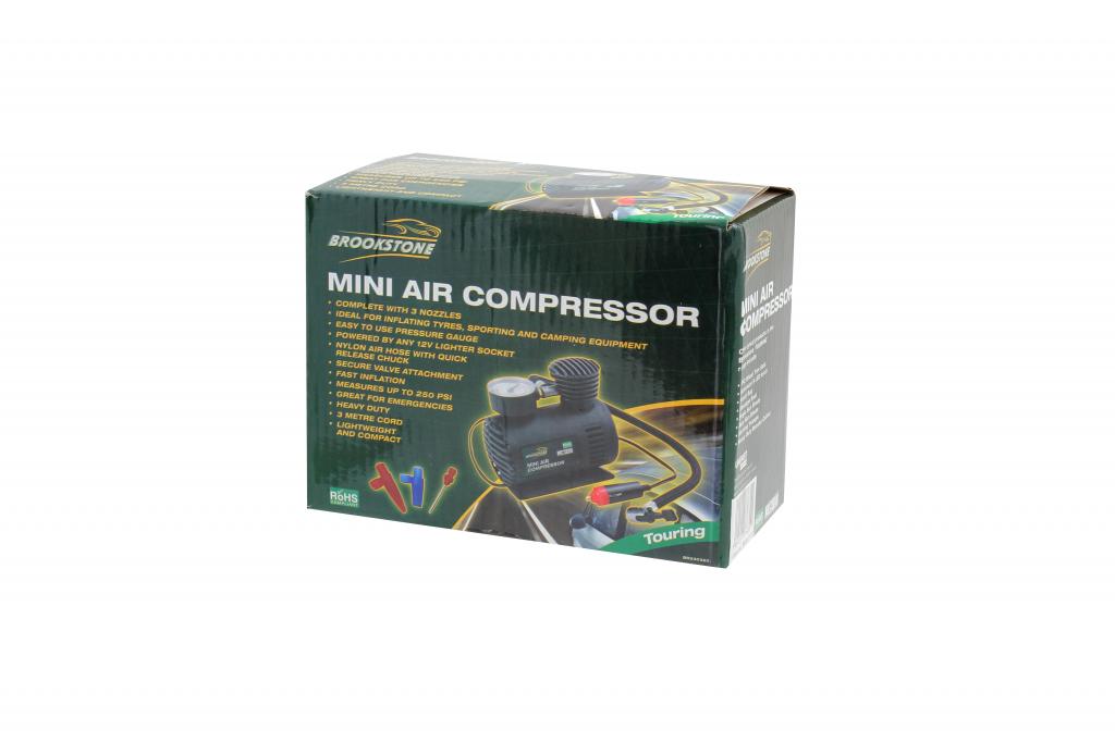 Brookstone Mini Air Compressor - 250PSI