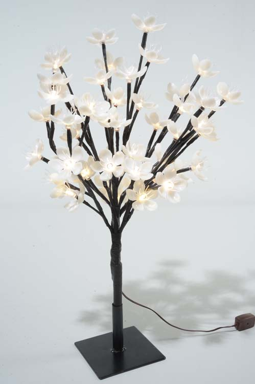 Kaemingk LED Outdoor Blossom Tree - 45cm Warm White