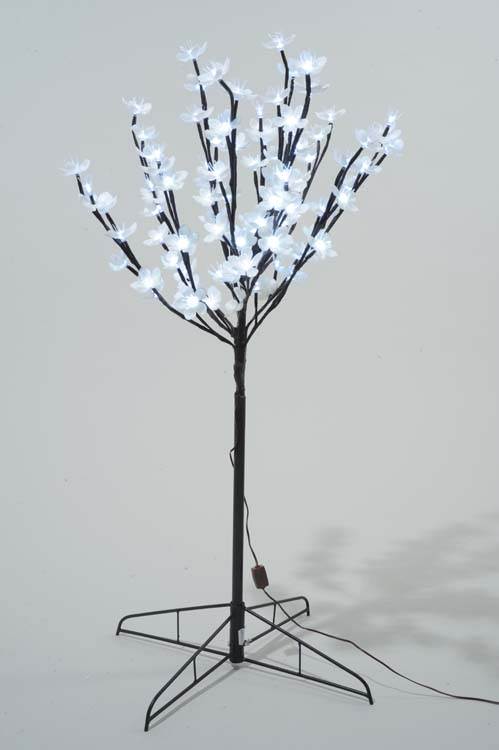 Kaemingk LED Outdoor Blossom Tree - 45cm Cool White