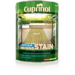 Cuprinol Anti Slip Decking Stain 5L Natural