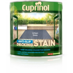 Cuprinol Anti Slip Decking Stain 2.5L Urban Slate