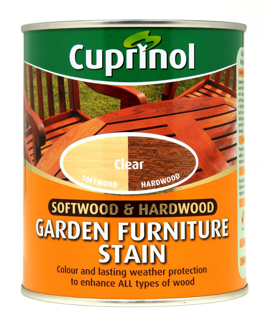 Cuprinol Garden Furniture Stain 750ml - Clear