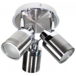 Powermaster 3 Light IP44 Bathroom Spot - GU10