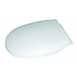Cavalier Thermoplastic Slow Close Seat White