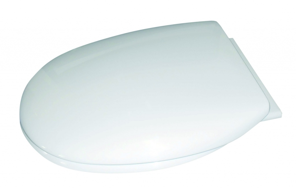 Cavalier Thermoplastic Soft Close Toilet  Seat - White