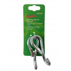 SupaFix Spring Hook Pack 2 75mm