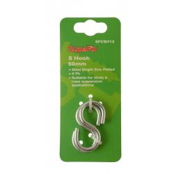 SupaFix S Hooks Pack 2 50mm