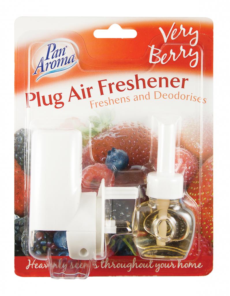 Pan Aroma Plug In Freshener - Very Berry