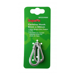 SupaFix Carbine Hook Pack 2 5x50mm
