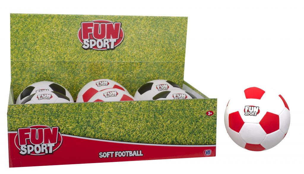 Fun Sport Soft Soccer Ball - 4.25""
