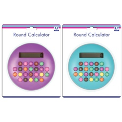 Anker Round Calculator With Coloured Buttons