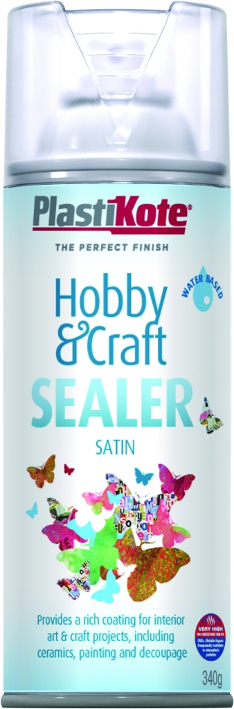 PlastiKote Hobby & Craft Sealer - 400ml Clear Satin