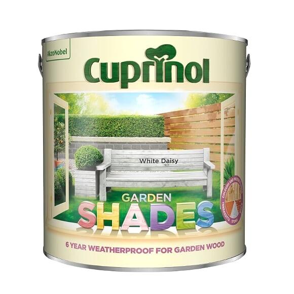 Cuprinol Garden Shades 2.5L - White Daisy