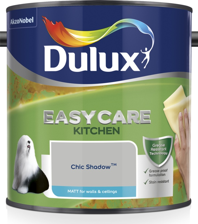 Dulux Easycare Kitchen Matt 2.5L - Chic Shadow