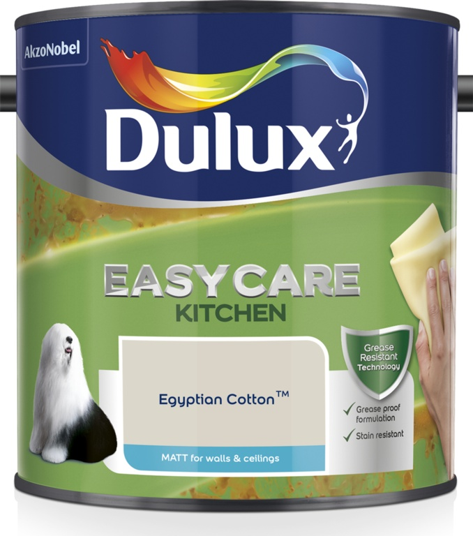 Dulux Easycare Kitchen Matt 2.5L - Egyptian Cotton