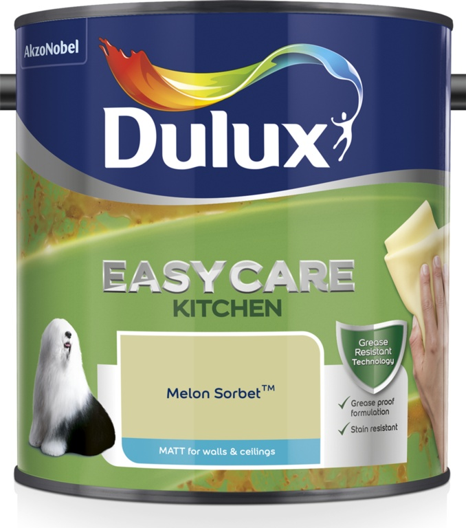 Dulux Easycare Kitchen Matt 2.5L - Melon Sorbet