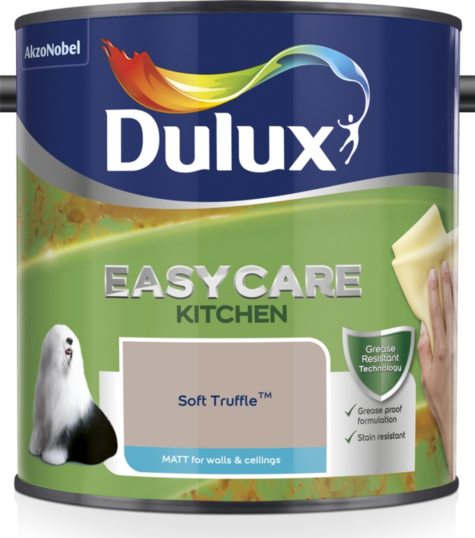 Dulux Easycare Kitchen Matt 2.5L - Soft Truffle