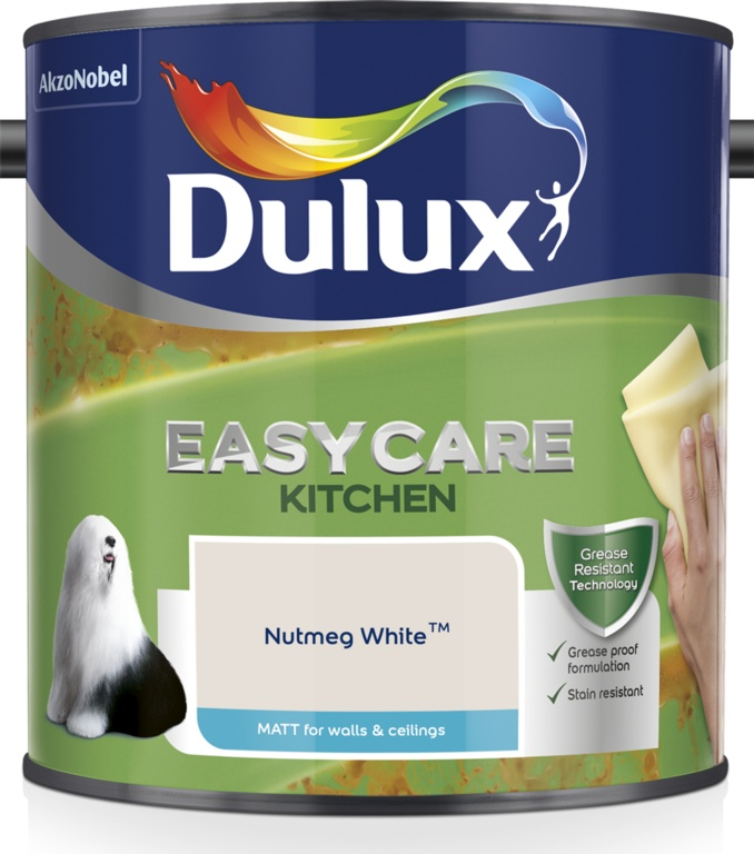 Dulux Easycare Kitchen Matt 2.5L - Nutmeg White