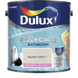 Dulux Easycare Bathroom Soft Sheen 2.5L Egyptian Cotton