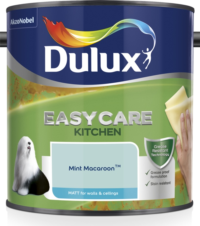 Dulux Easycare Kitchen Matt 2.5L - Mint Macaroon