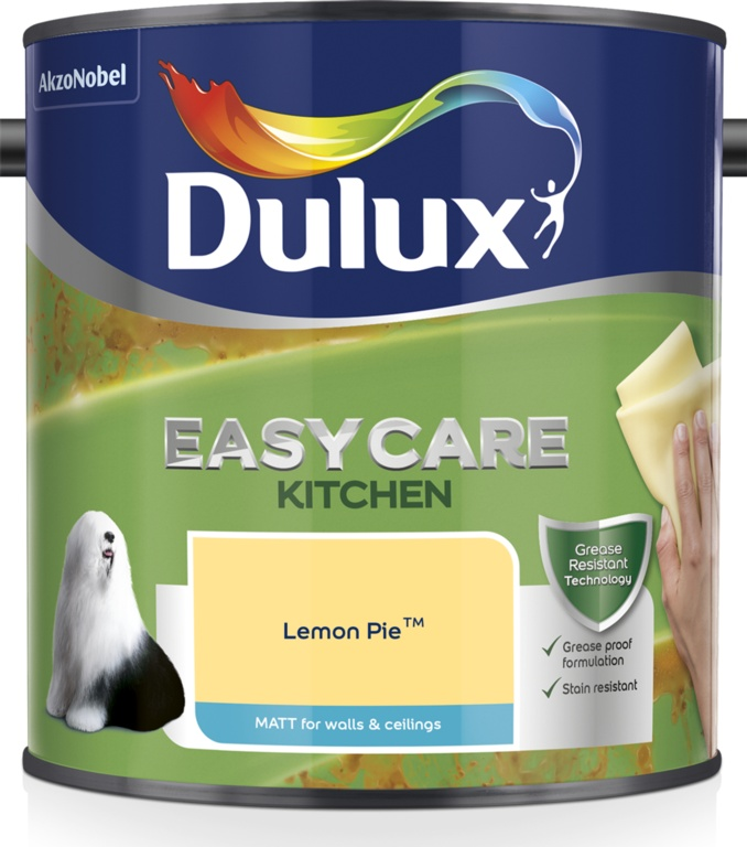 Dulux Easycare Kitchen Matt 2.5L - Lemon Pie