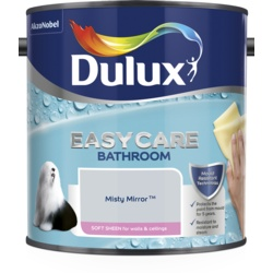 Dulux Easycare Bathroom Soft Sheen 2.5L Misty Mirror