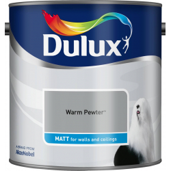 Dulux Standard Matt 2.5L Warm Pewter