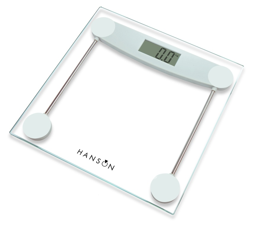 Terraillon Glass Electronic Bathroom Scale - Clear 150kg