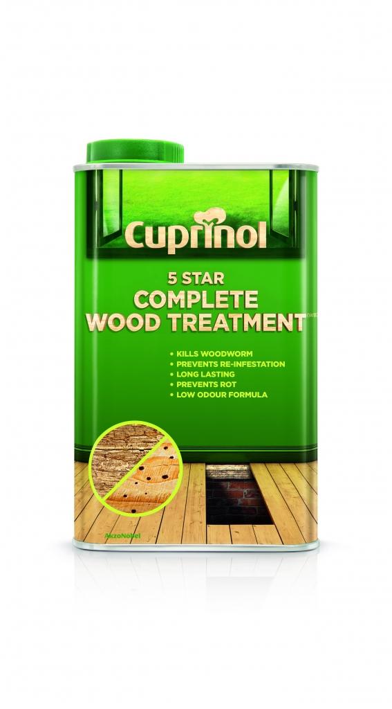 Cuprinol 5 Star Complete Wood Treatment - 1L