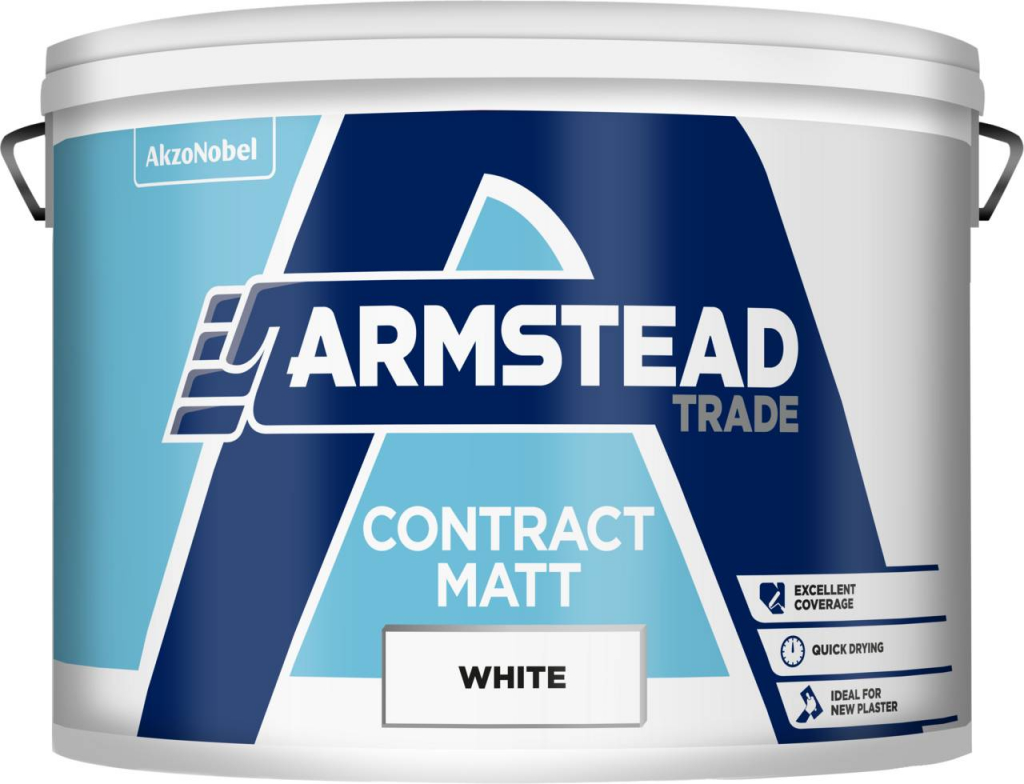 Armstead Trade Contract Matt 10L - White