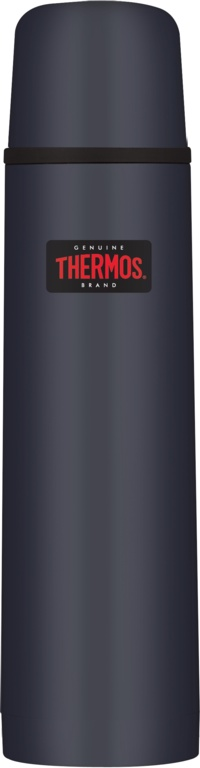 Thermos Light and Compact Flask 1L - Midnight Blue