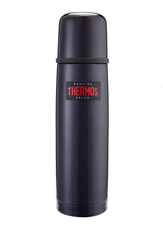 Thermos Light and Compact Flask 500ml  - Midnight Blue