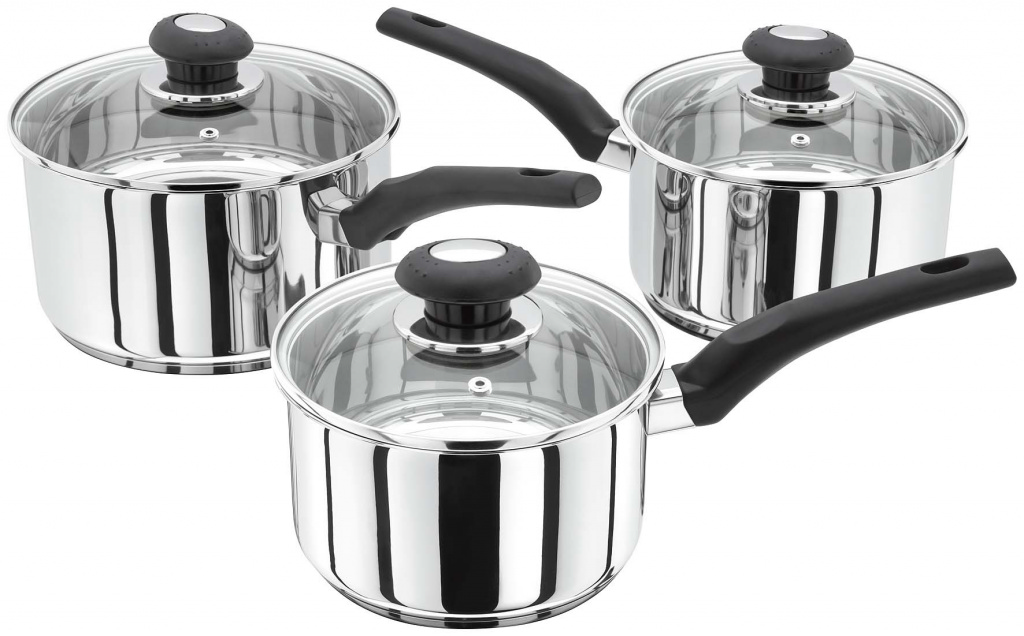 Judge Basics Stainless Steel Pan Set - 3 Piece