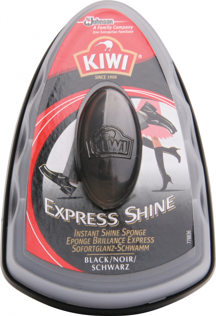 Kiwi Express Shine Sponge - Black