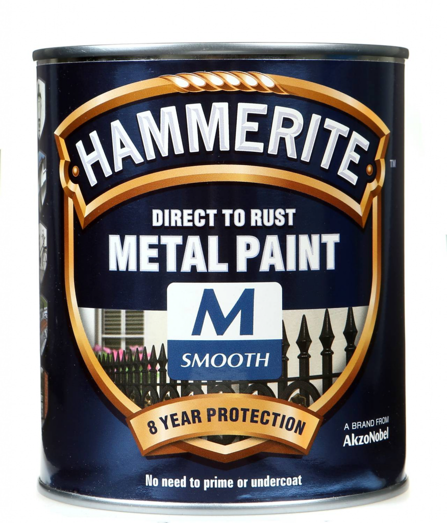 Hammerite Smooth Tinting Base Medium 750ml