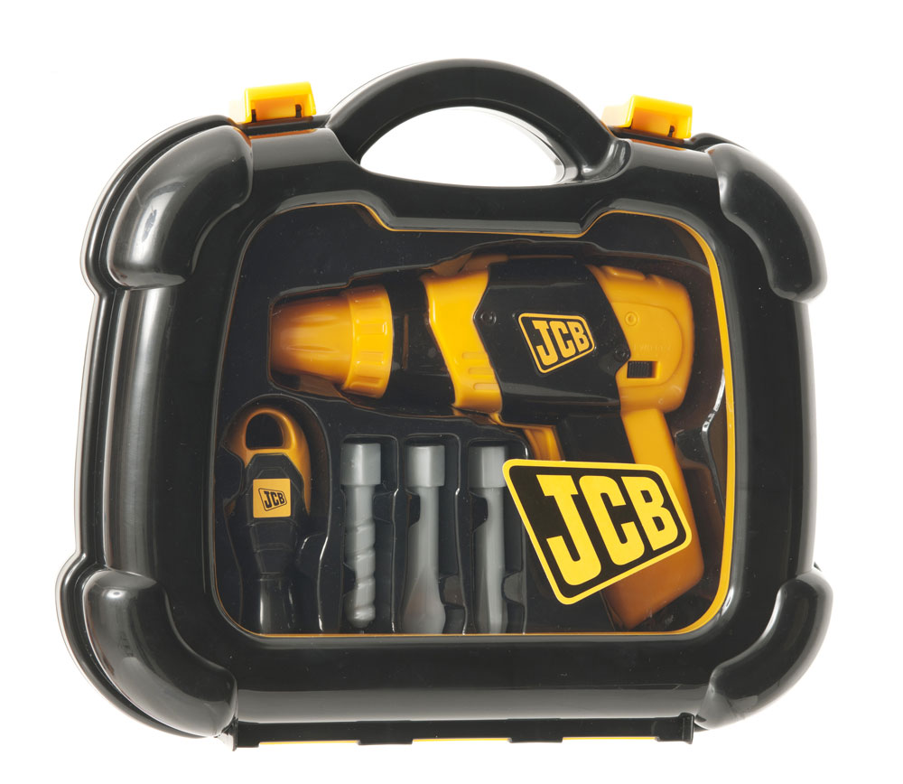 JCB Tool Box & Battery Operated Drill