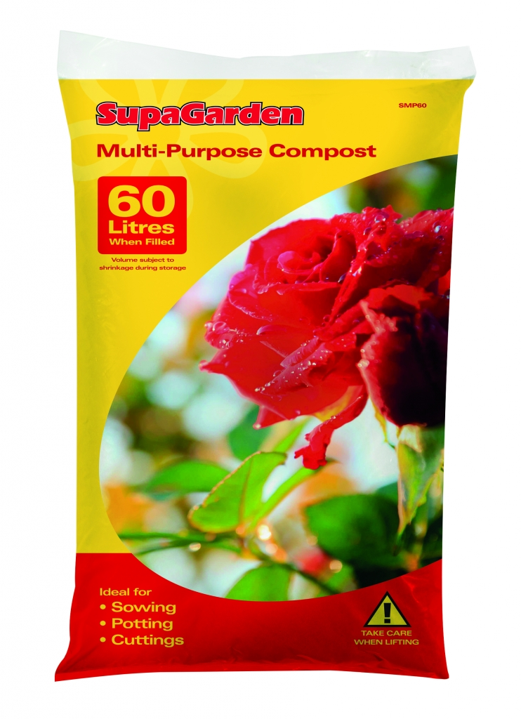 SupaGarden Multi-Purpose Compost - 60L