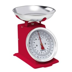 Terraillon Traditional Kitchen Scale - 5kg Red