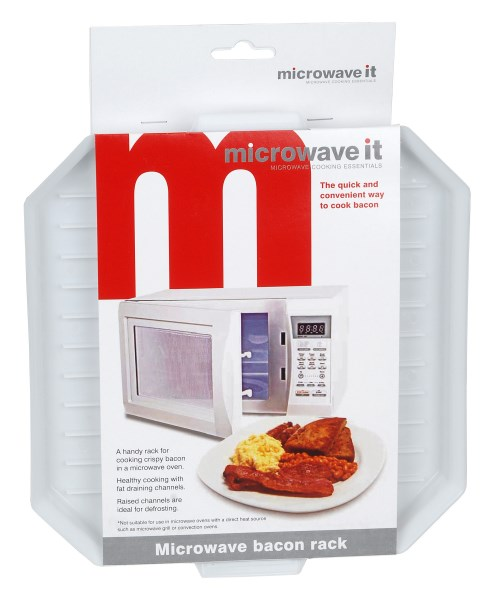 Microwave It Bacon Crisper