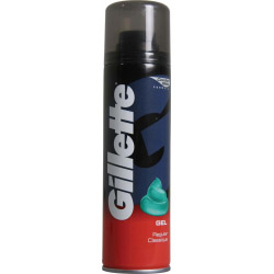 Gillette Shaving Gel Regular