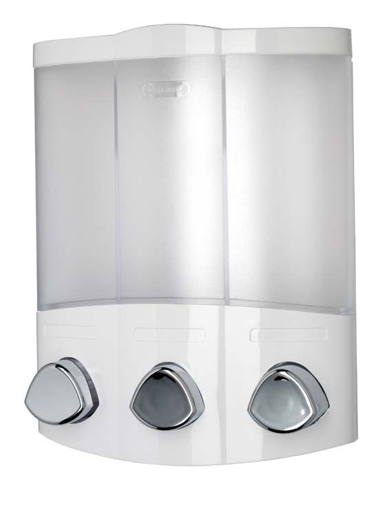 Croydex Euro Dispenser Trio - White