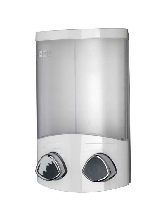 Croydex Euro Dispenser Duo - White