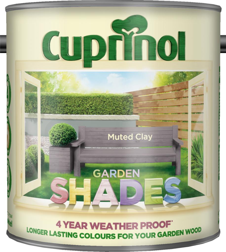Cuprinol Garden Shades 2.5L - Muted Clay